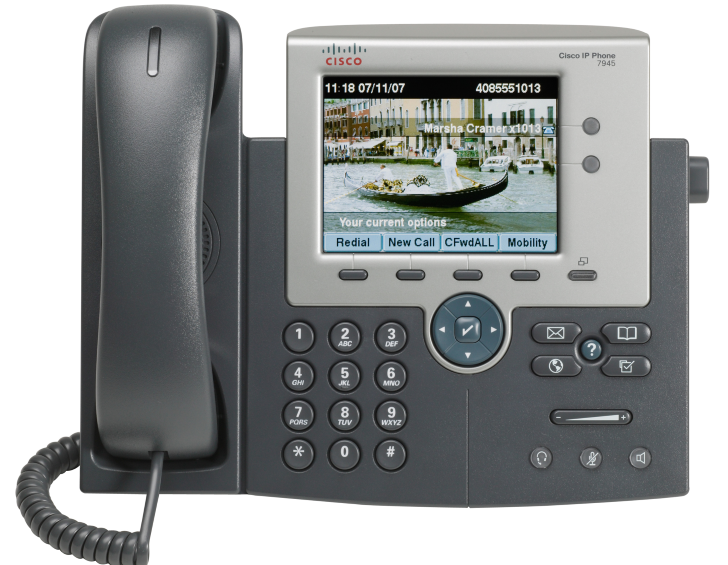 Cisco Ip phone 7945 user guide