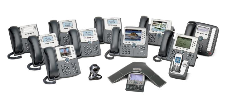 Cisco phone models